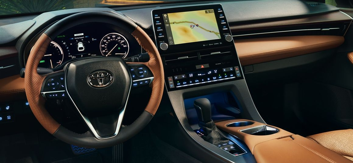 Interior of the 2019 Avalon