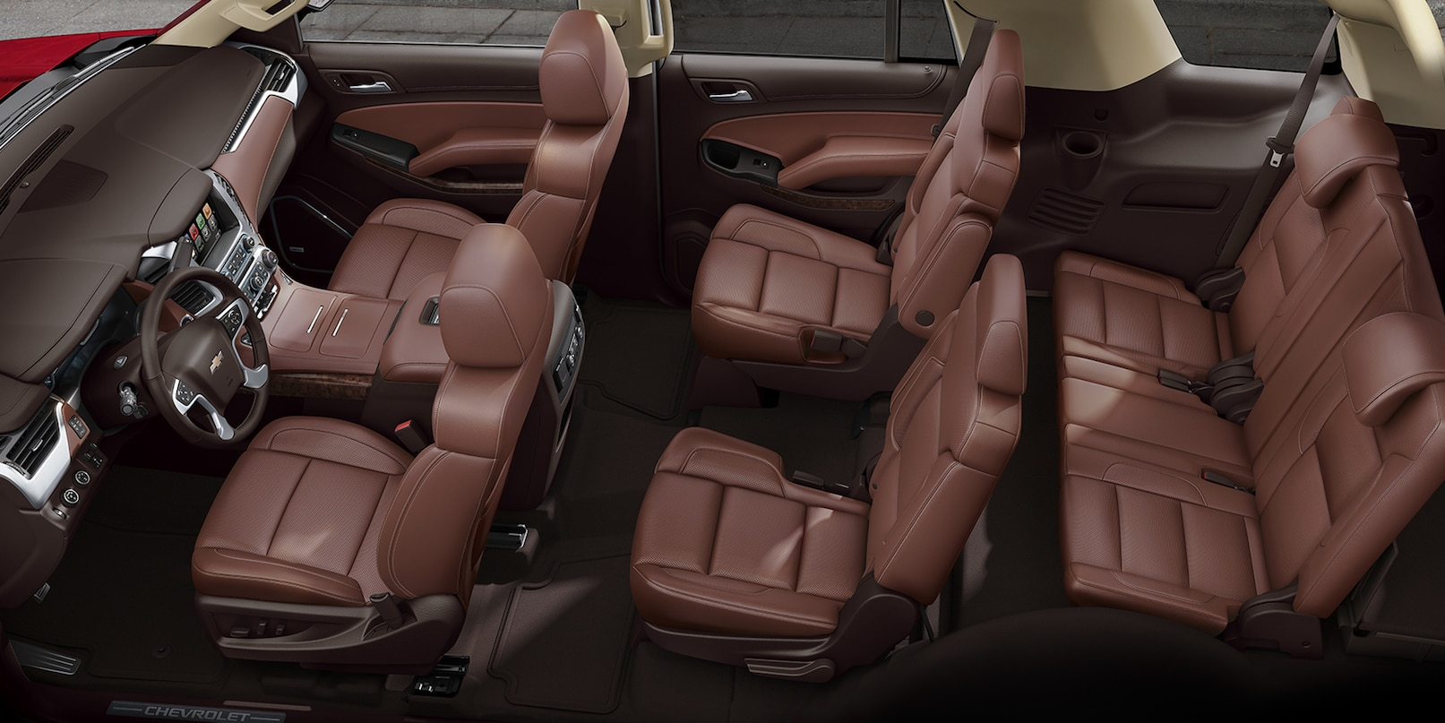 Plenty of Seating Inside the 2018 Tahoe!