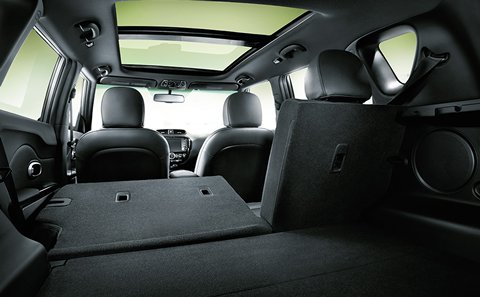 Versatile Seating in the Kia Soul
