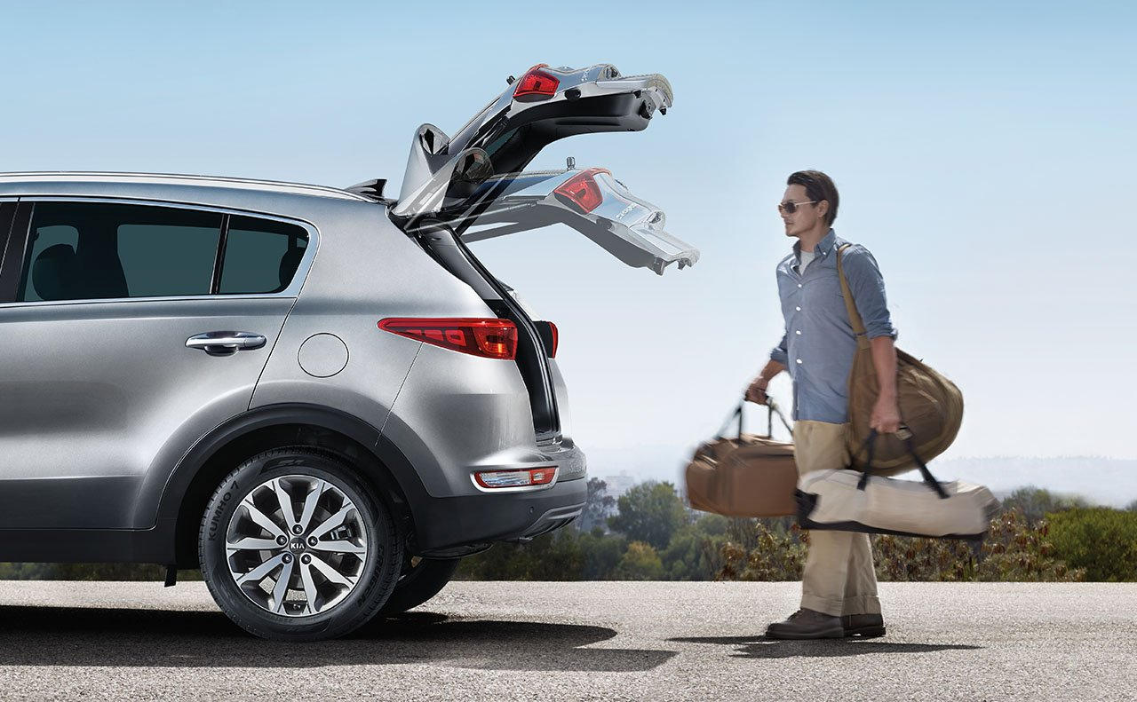 The Sportage's Smart-Power Liftgate®