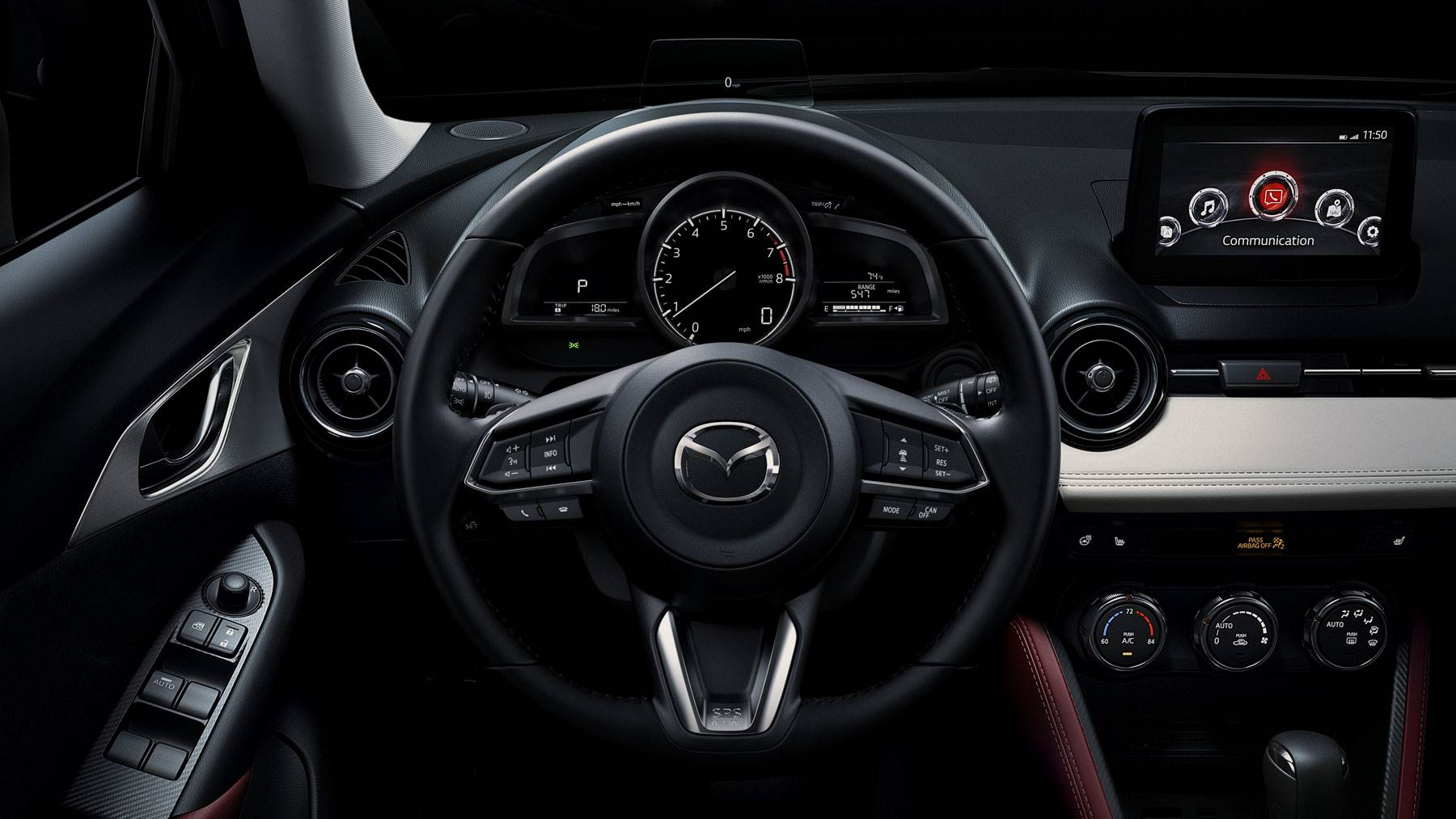 2018 Mazda CX-3 Digital Cluster