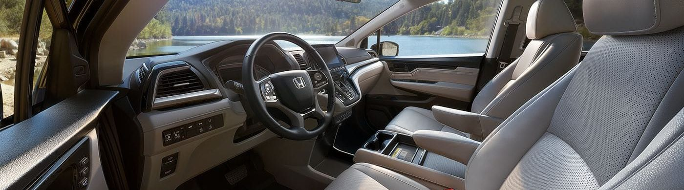 Spacious Cabin of the Honda Odyssey