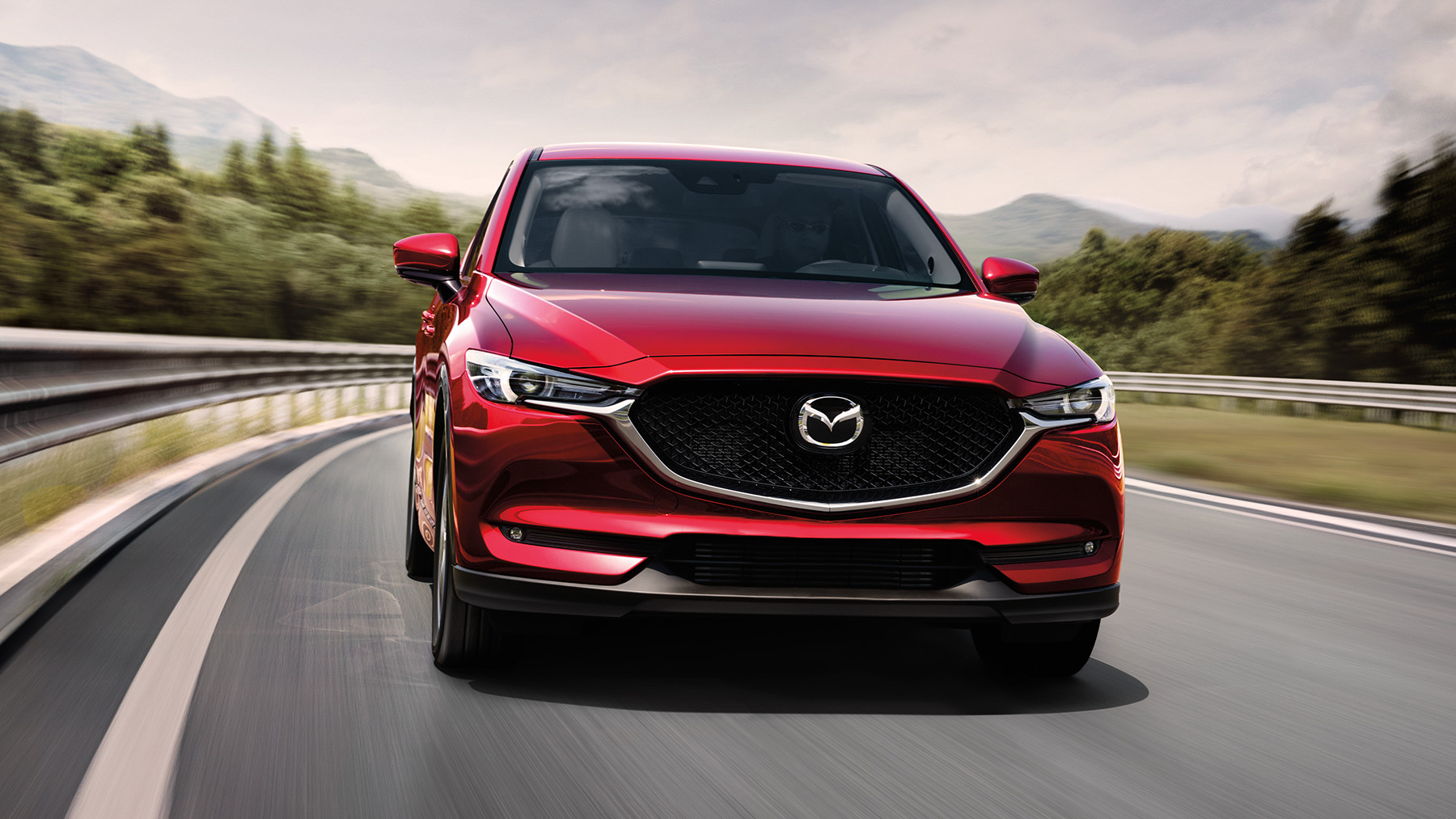 Attract Attention in the Mazda CX-5!