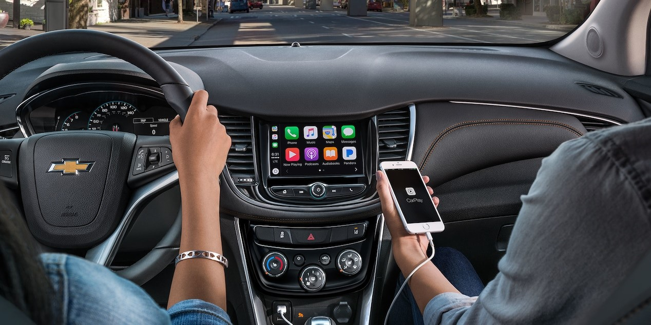 Apple CarPlay™ in the 2018 Chevy Trax