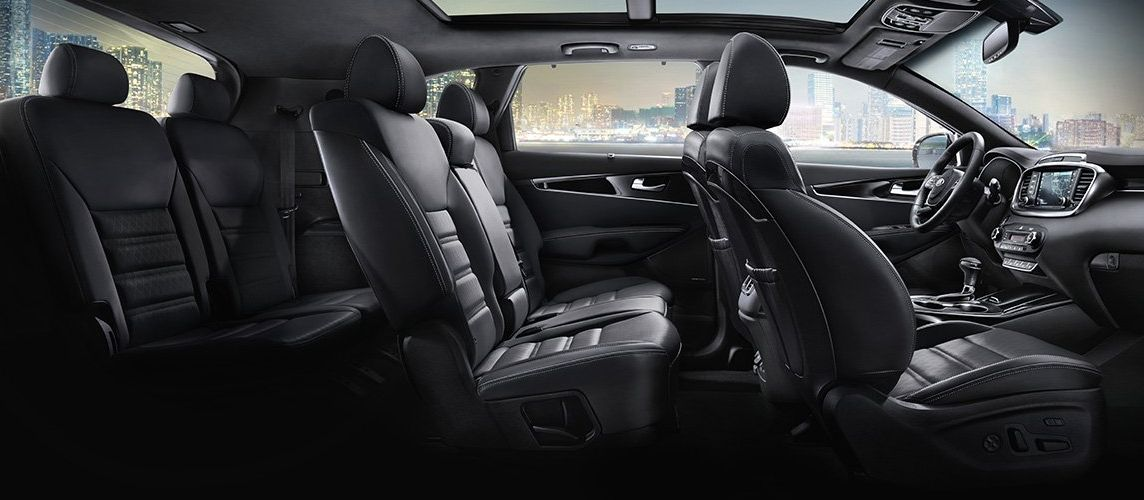 Interior of the 2019 Sorento