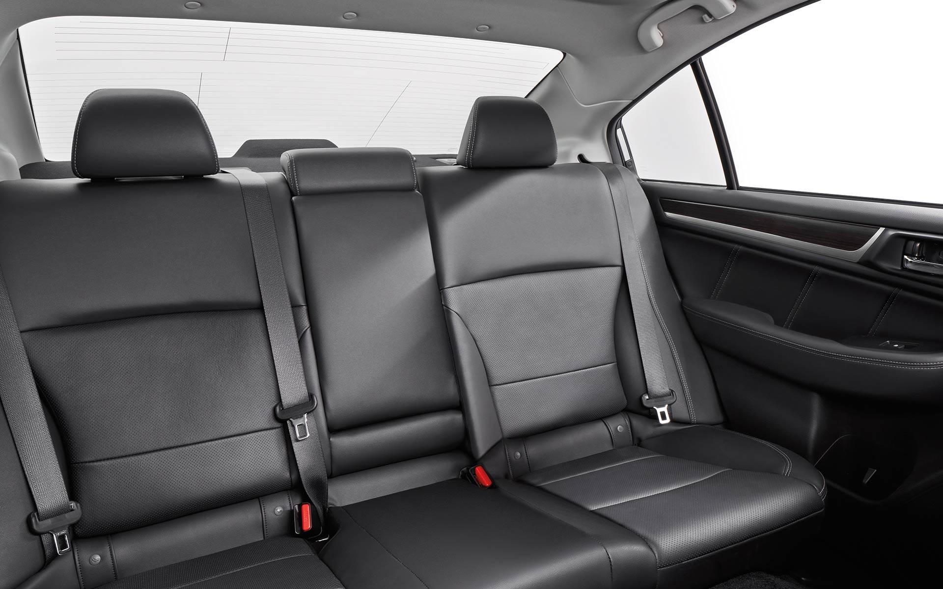 Rear Seating in the Subaru Legacy