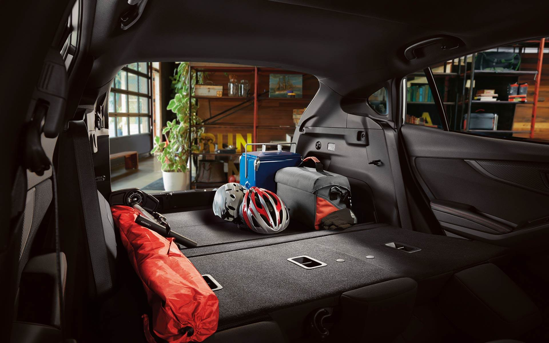 Impreza Hatchback Cargo Space