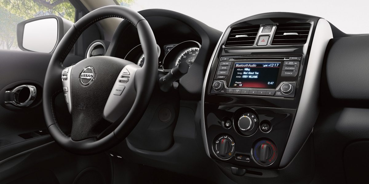 2018 Nissan Versa Center Console