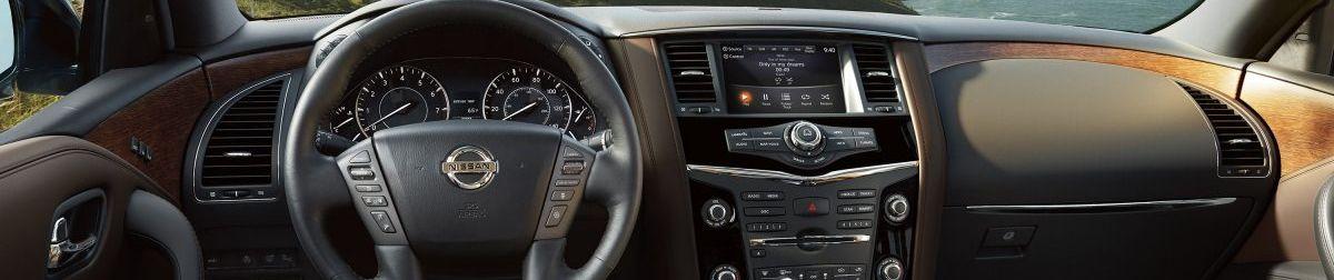 2018 Nissan Armada Center Console