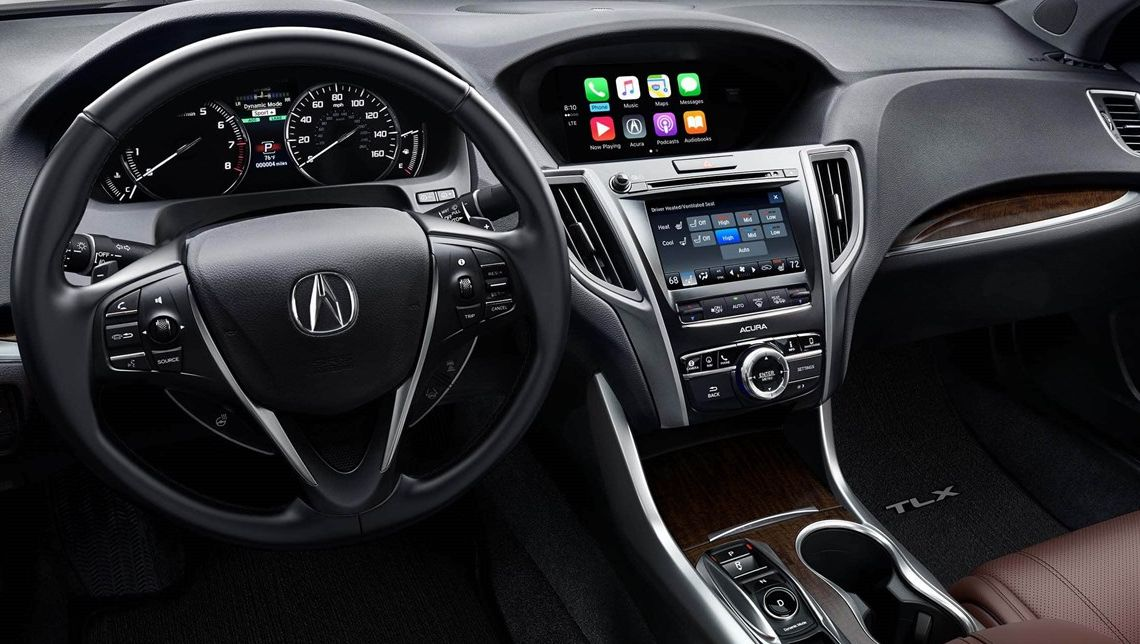 Interior of the 2019 TLX