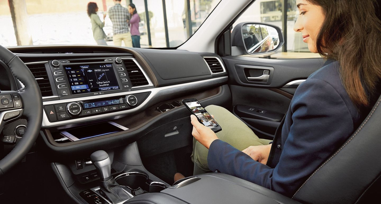 Great Technology in the 2018 Highlander