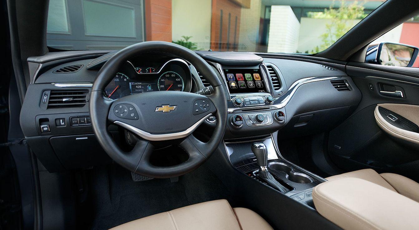 Interior of the 2018 Impala