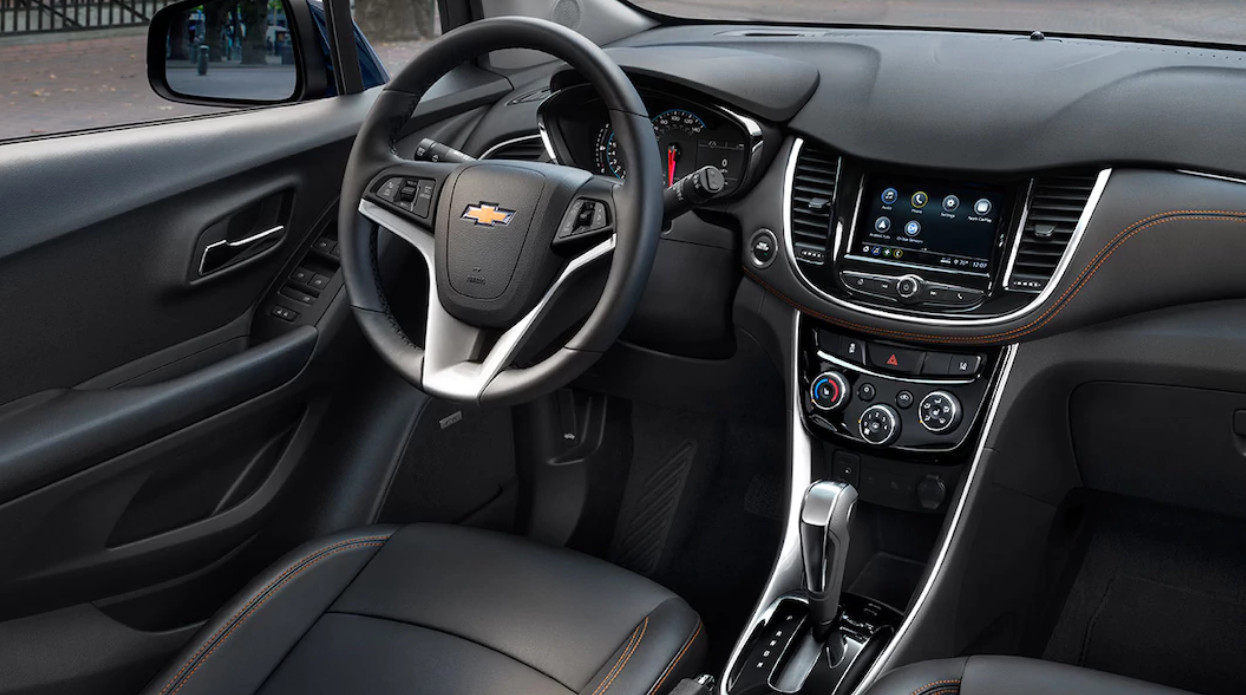 Interior of the 2018 Trax
