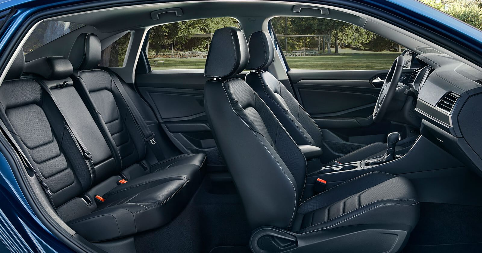 Spacious Jetta Interior