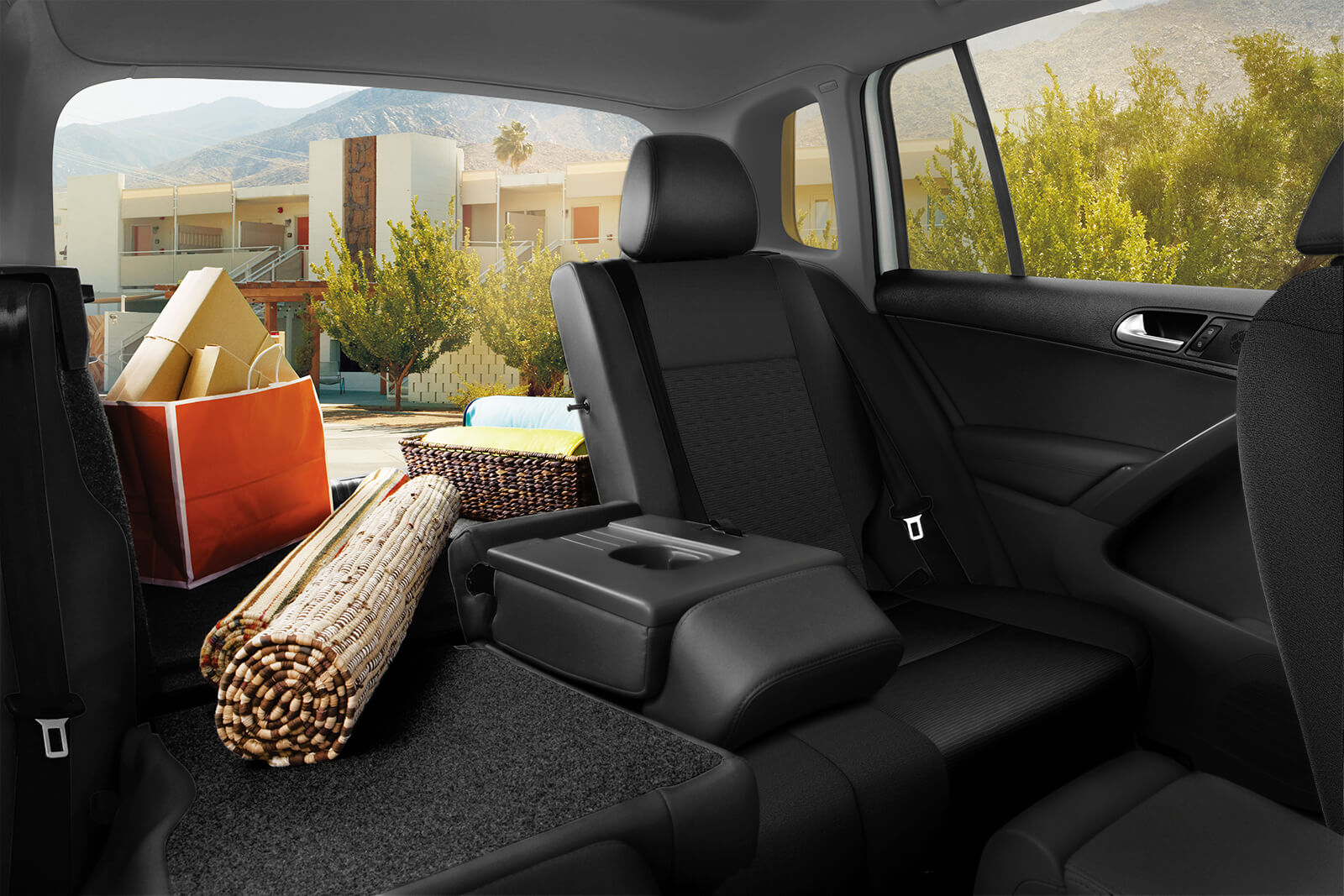 Cargo Options in the Tiguan Interior