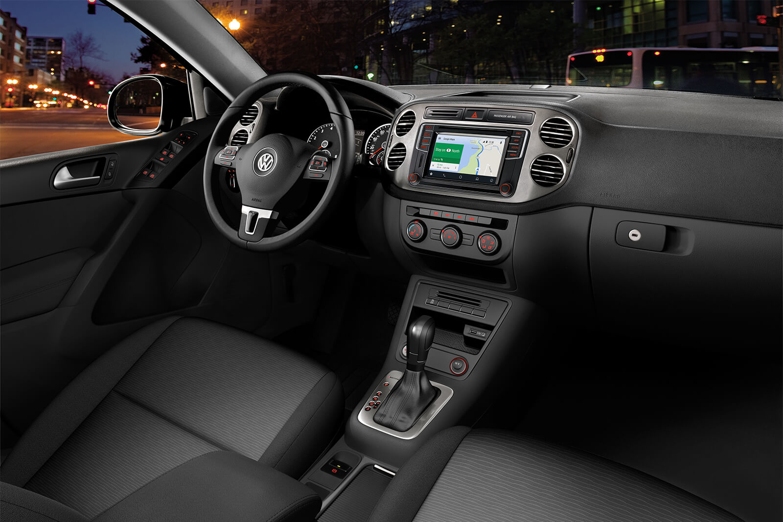 Tiguan Limited Interior