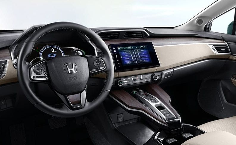 Interior Of The 2018 Honda Clarity Plug In Hybrid