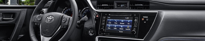 2018 Toyota Corolla Center Console