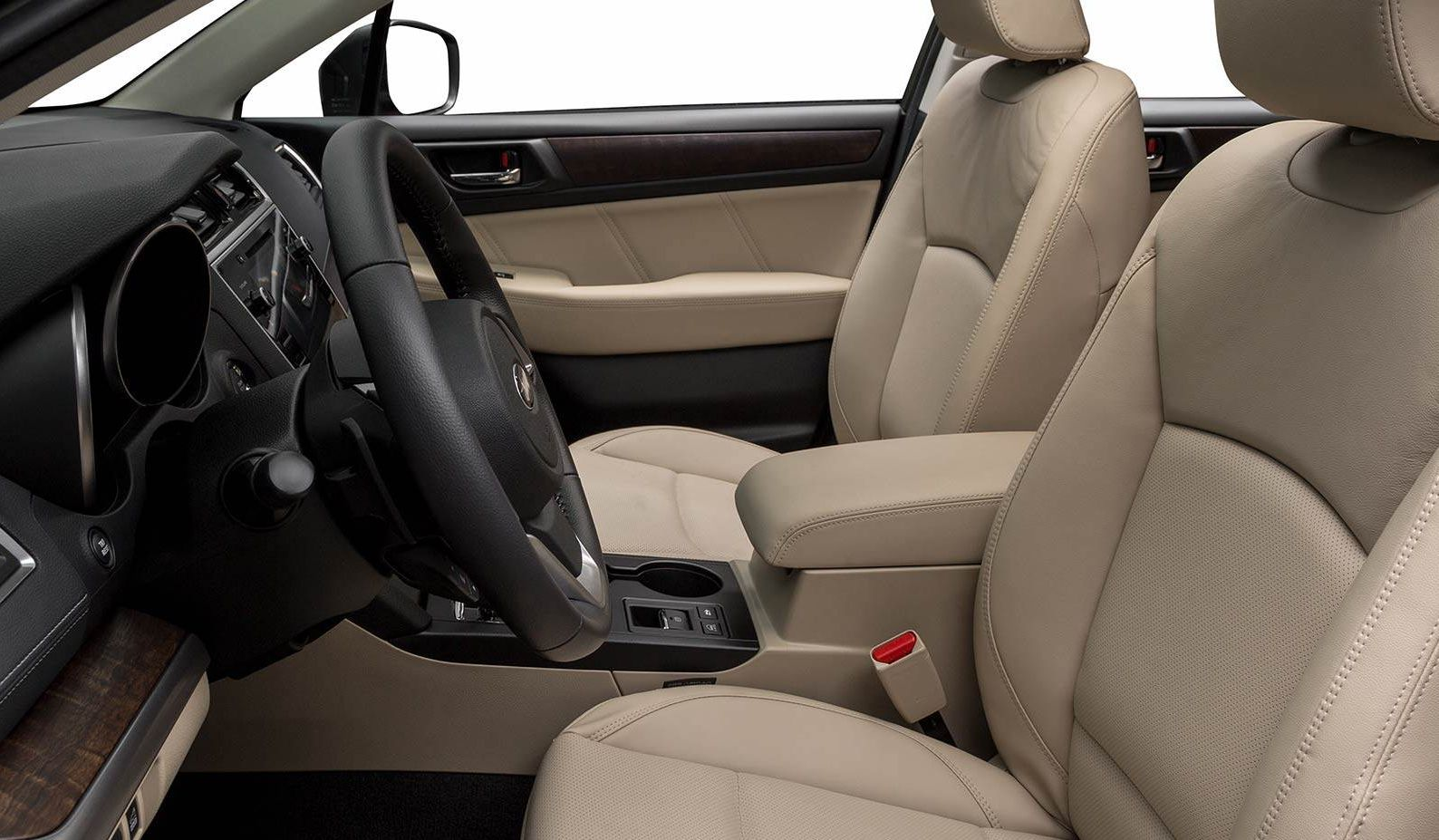 Interior of the 2018 Outback