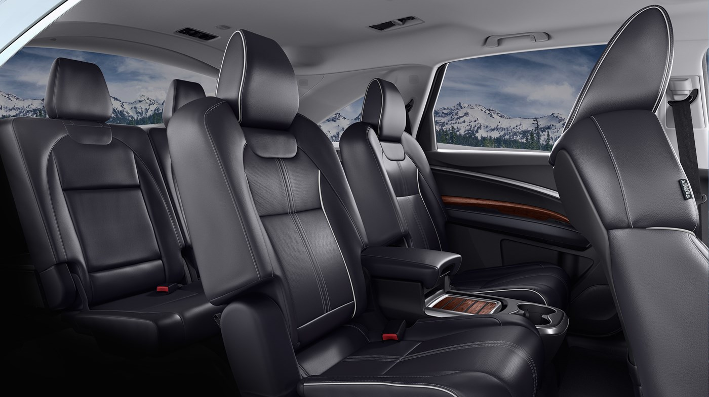 The 2018 MDX's Spacious Cabin