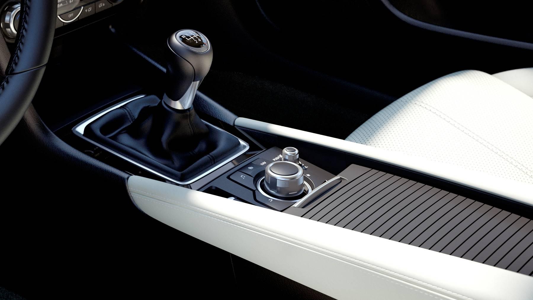 Gear Shift in the 2018 Mazda3