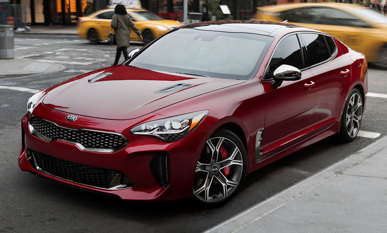 2018 Kia Stinger Leasing in Houston, TX