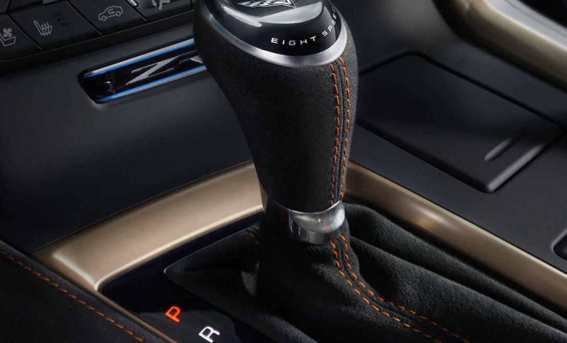 Interior of the 2019 Chevrolet Corvette