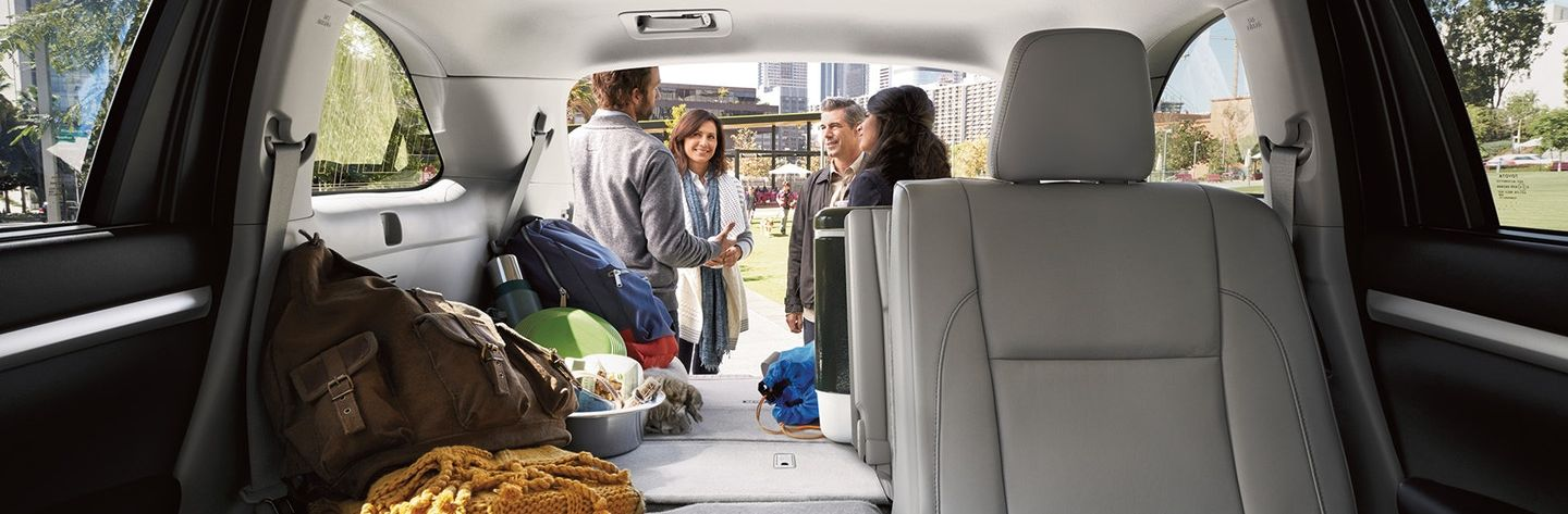 Accommodating Interior of the Highlander Hybrid