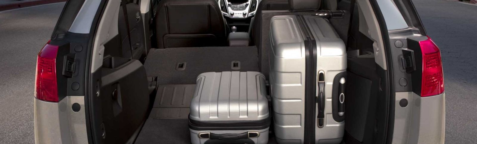 2017 GMC Terrain Cargo Space