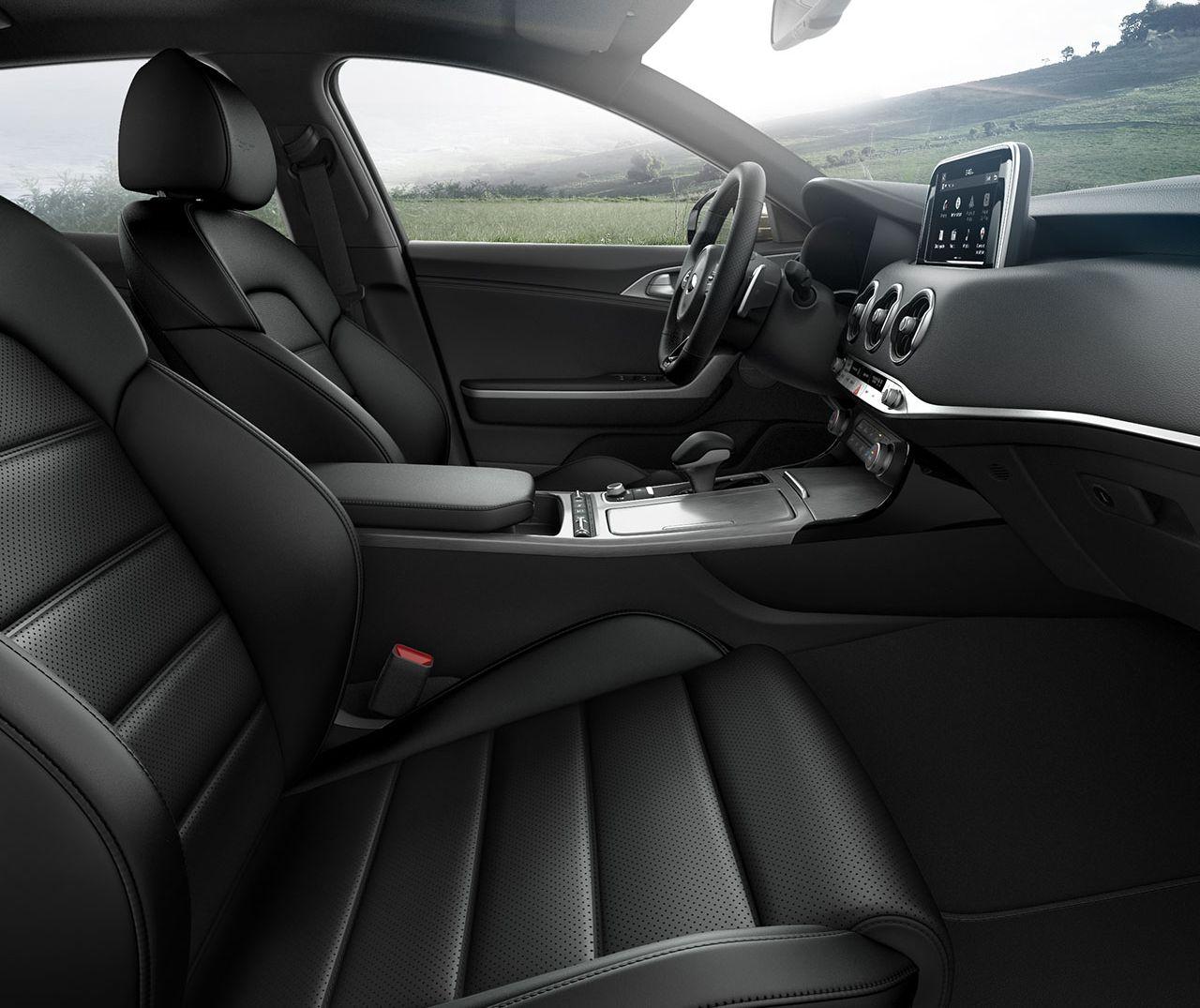 Luxury Inside in the Kia Stinger
