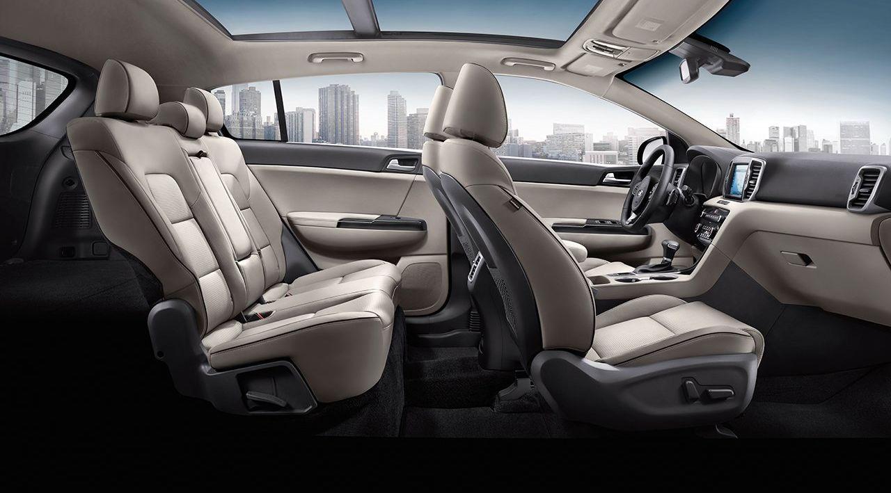Cozy Drive in the Kia Sportage