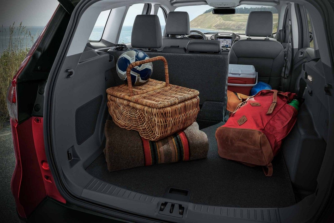 Plenty of Cargo Space in the 2018 Escape