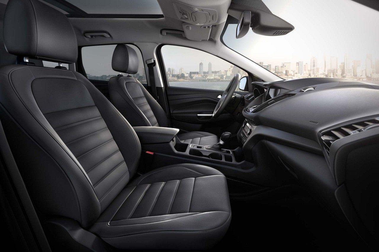 Interior of the 2018 Ford Escape