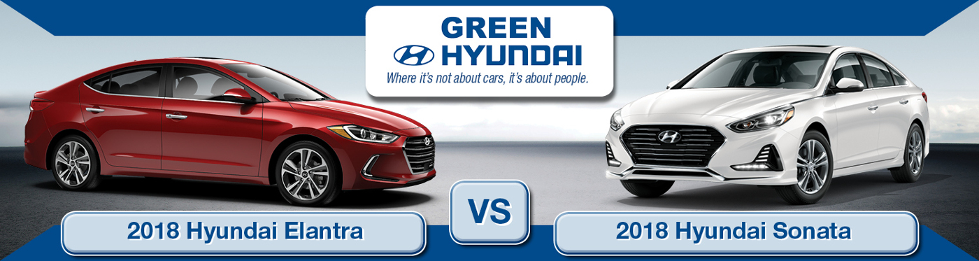 Sonata Vs Elantra >> 2018 Hyundai Elantra Vs Sonata Price Specs Performance Tech