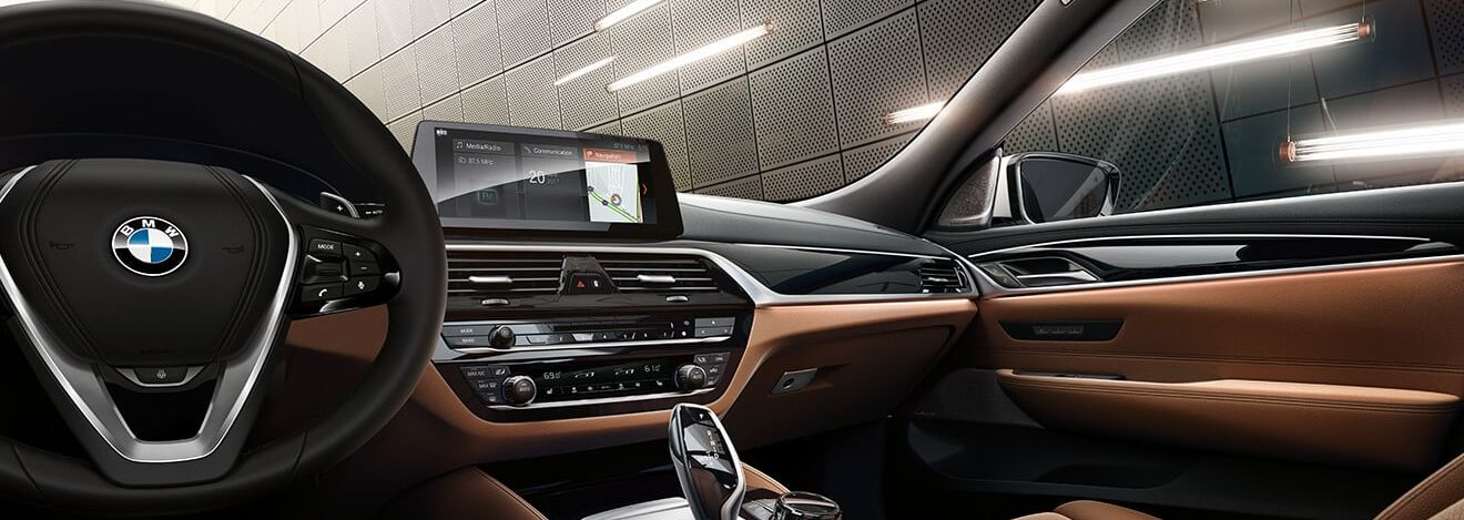 Outstanding Interior of the BMW 6 Series