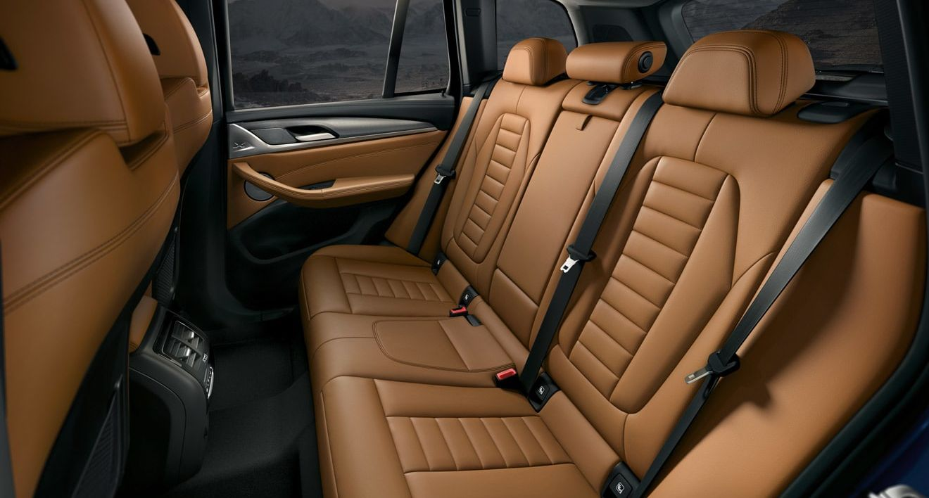 Cozy Seating in the BMW X3
