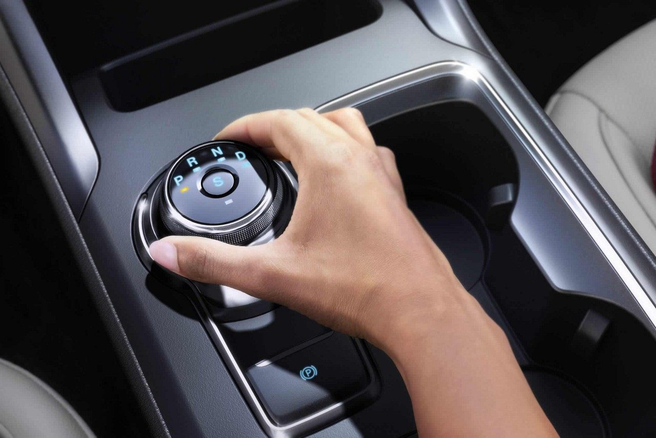 Rotary Gear Shift in the 2018 Fusion