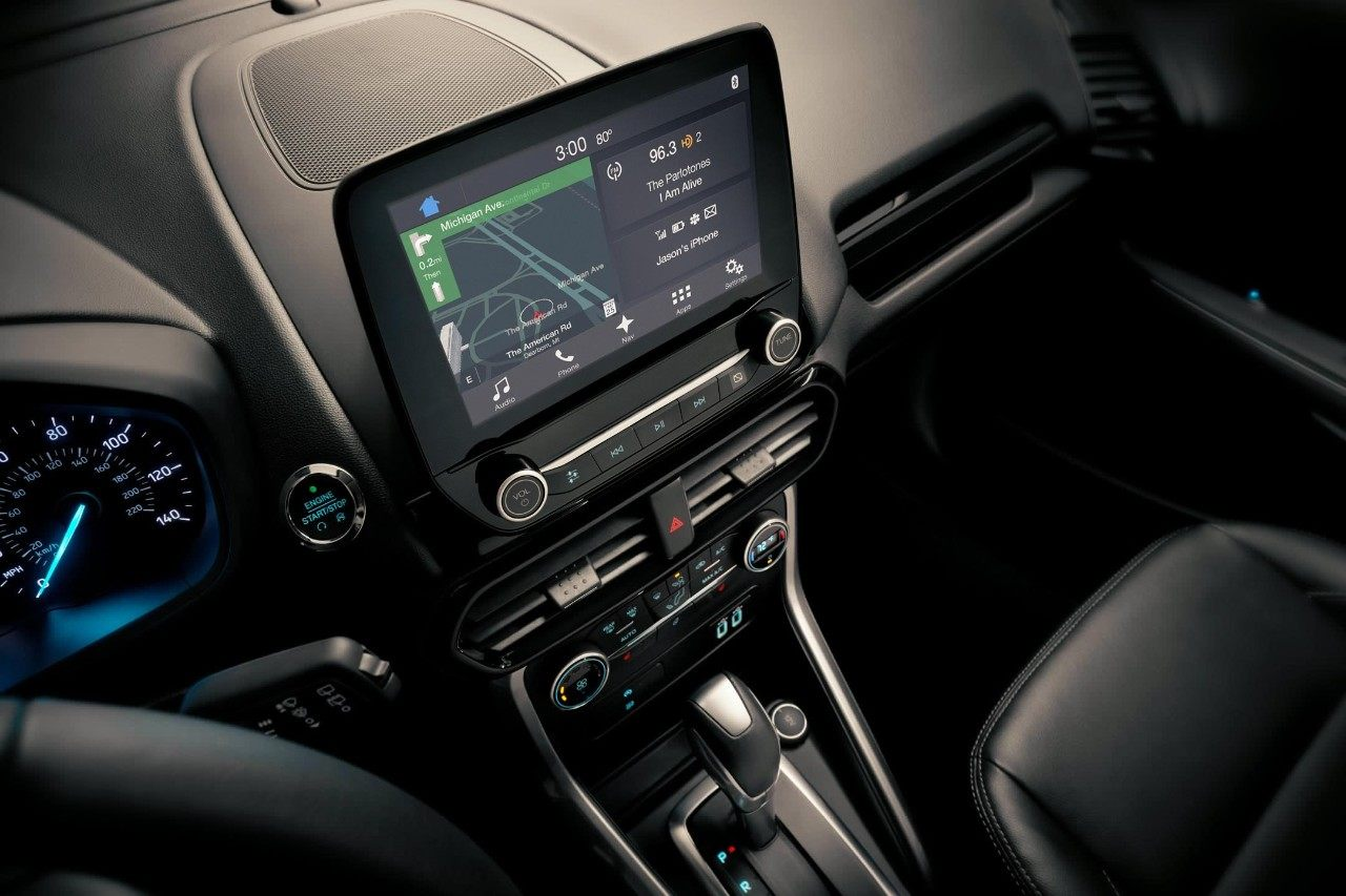 Display in the 2018 EcoSport