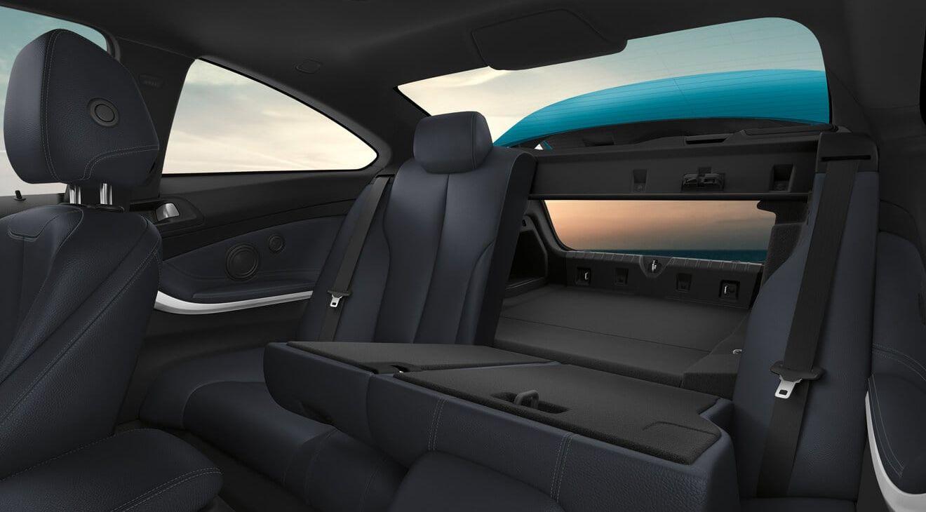 Versatile Interior of the 2019 4 Series