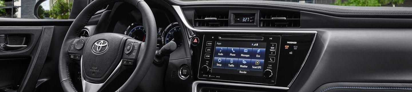2019 Toyota Corolla Center Console