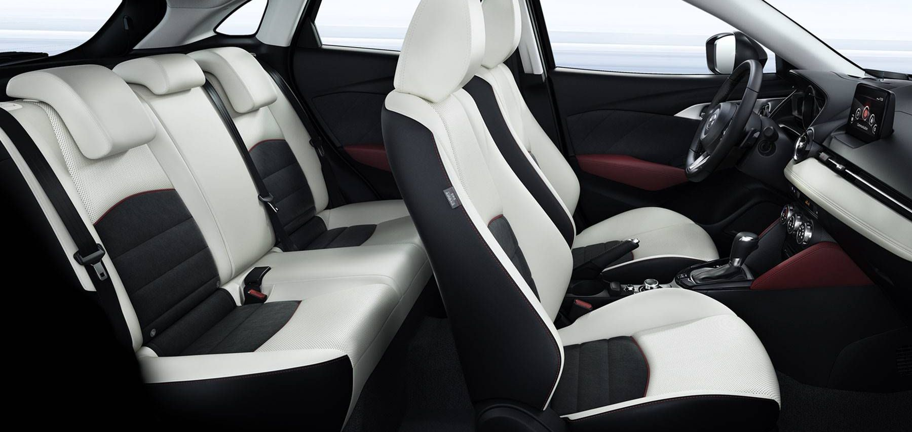 Interior of the 2018 Mazda CX-3