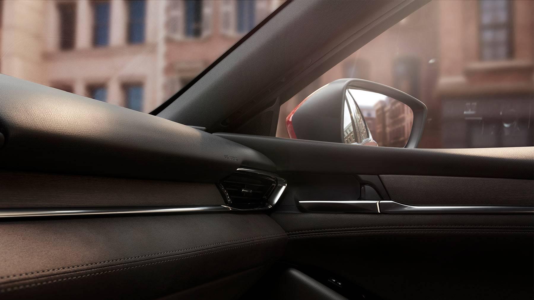 Interior of the 2018 Mazda6