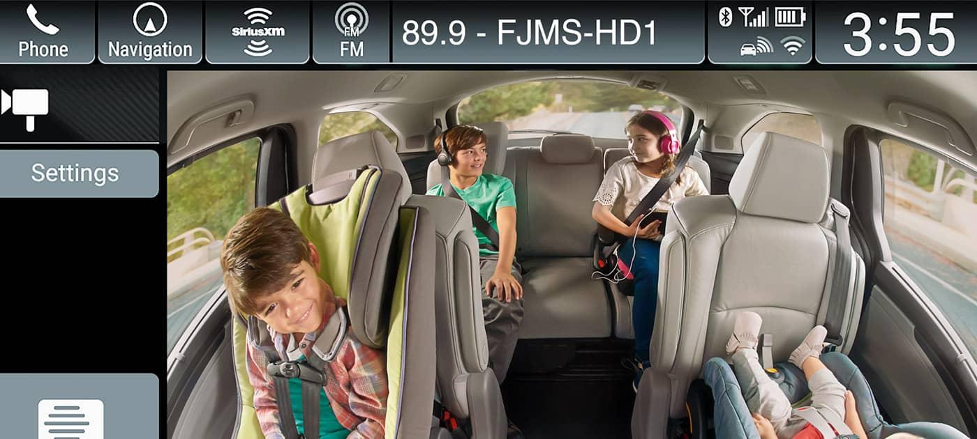 Échale un ojo a los niños con Honda CabinWatch™