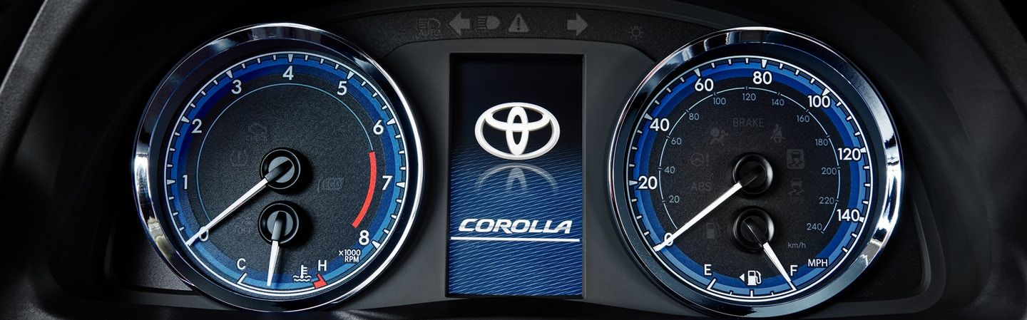 2019 Toyota Corolla Instrument Cluster