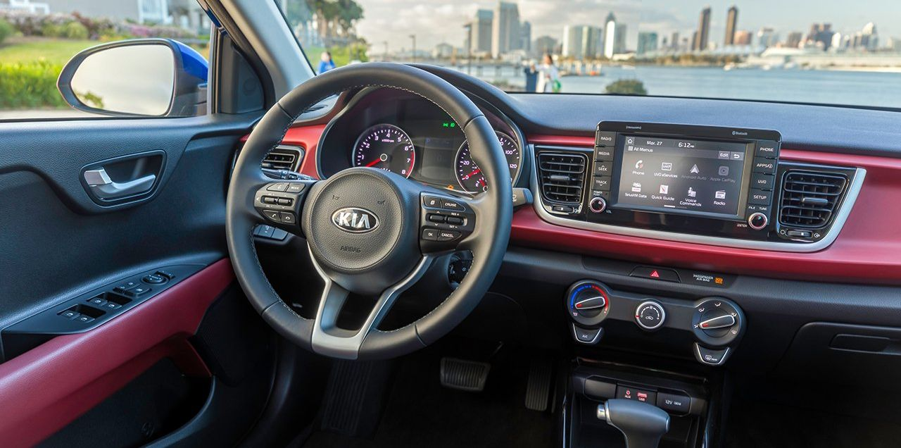 Enjoy the Drive in the Kia Rio!