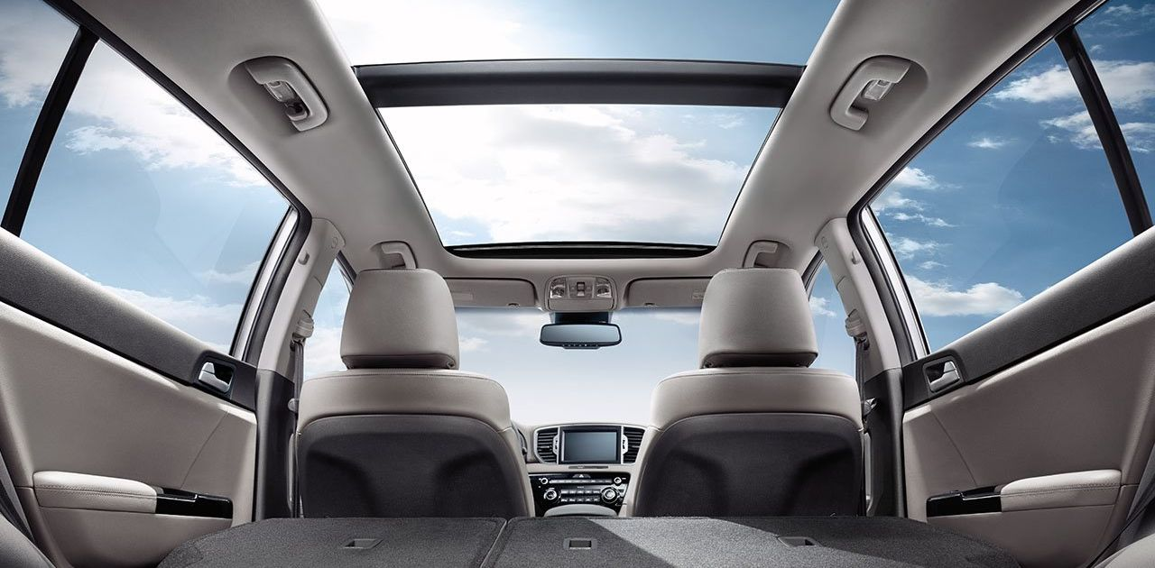 Cargo Options in the Sportage