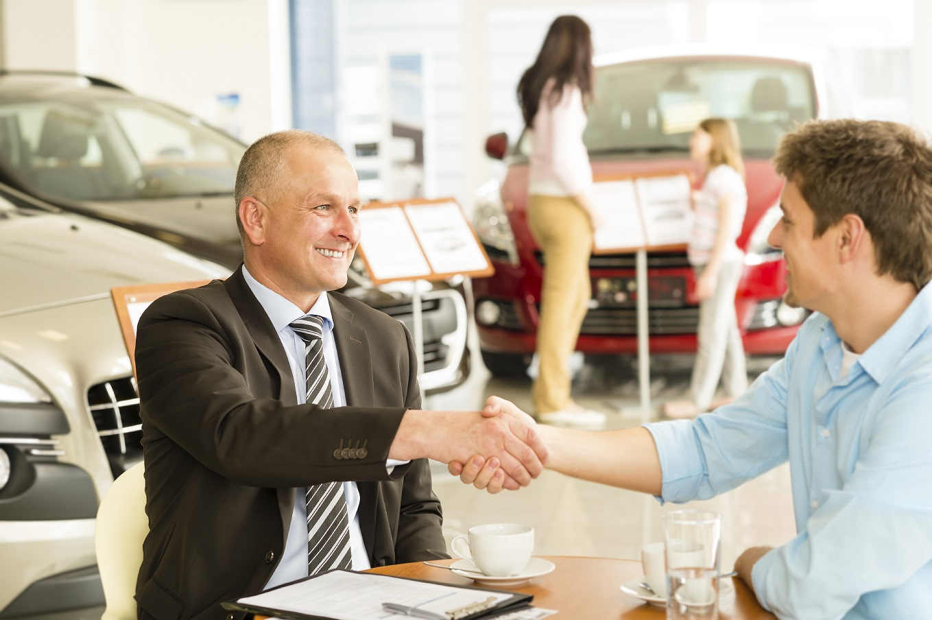 Visit the Friendly Faces at Sweeney Cars!