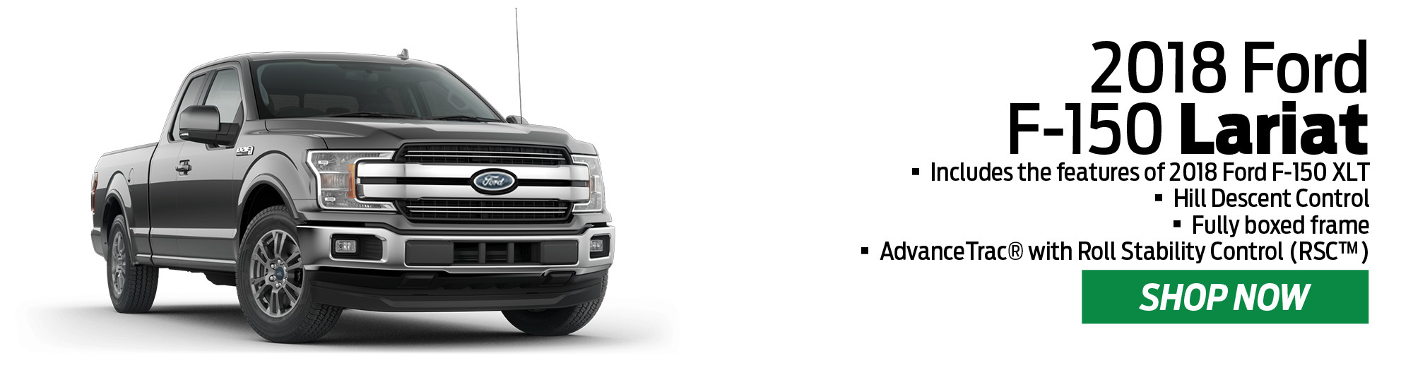 2018 Ford F-150 Trim Levels - Wiscasset Ford