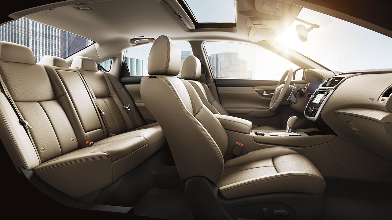 The Altima Was Built With Comfort in Mind!