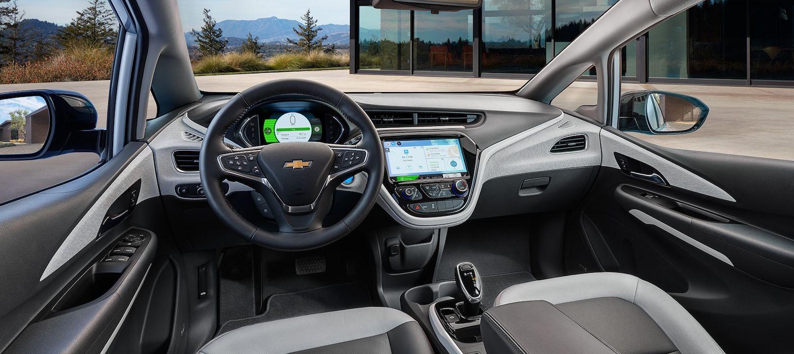 Interior of the Chevy Bolt EV